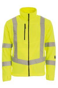 Fleece jacket, Color: 55 yellow