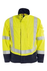 Non-metal FR Jacket, Color: 94 yellow/navy