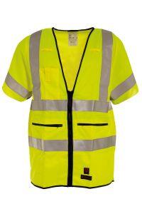 FR Waistcoat, Color: 55 yellow