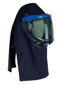 Electric Arc hood + visor + helmet