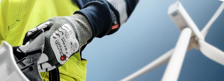 Flame Retardant Protective gloves